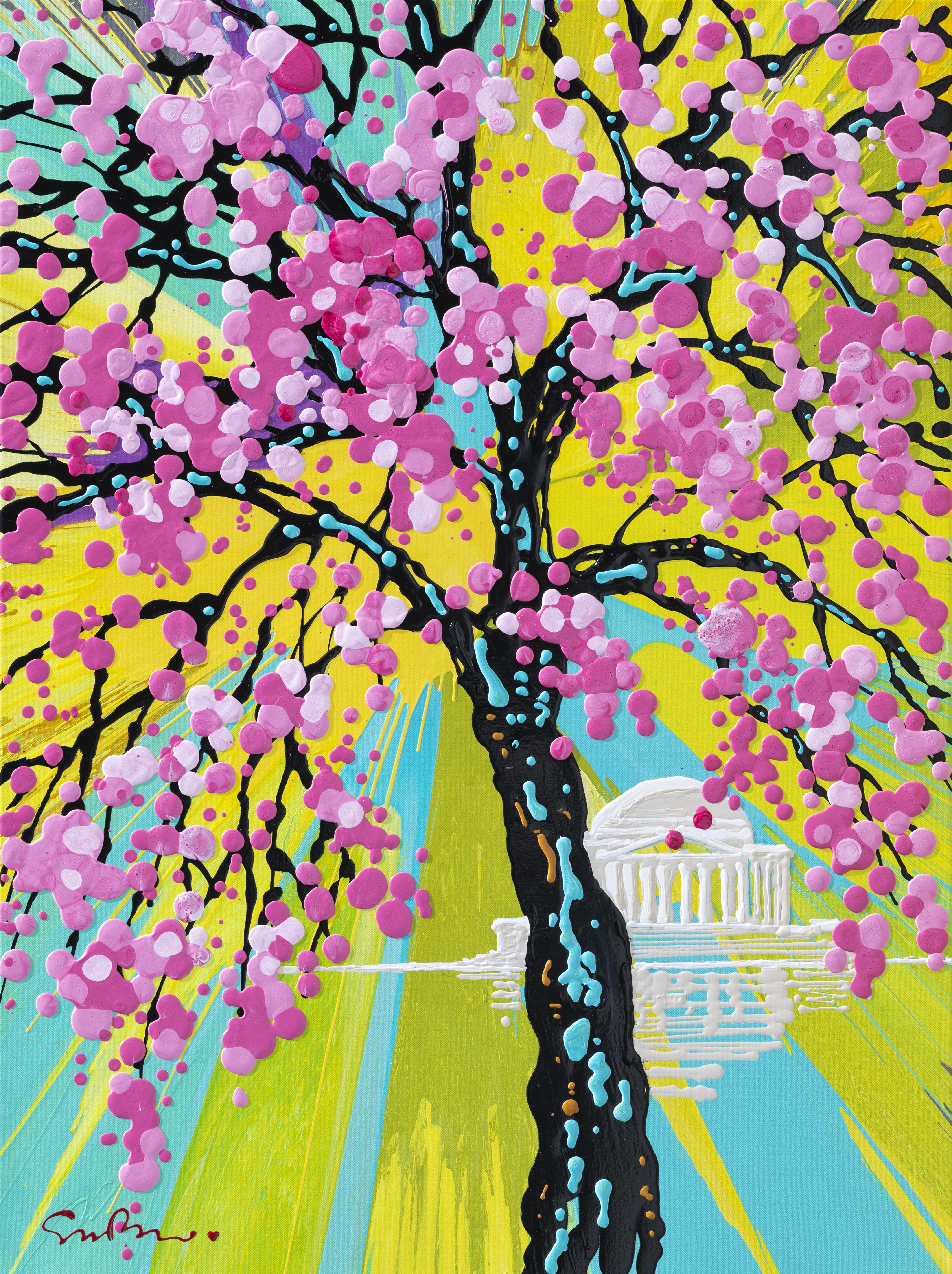Simon Bull Named As Official Artist For 2019 Cherry Blossom Festival
